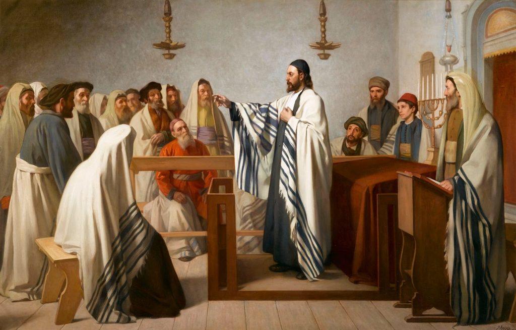 edouard_moyse_sermon_dans_un_oratoire_israelite_1897