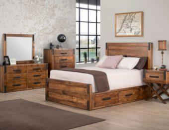 Wood Bedroom Sets Make A Romantic Atmosphere