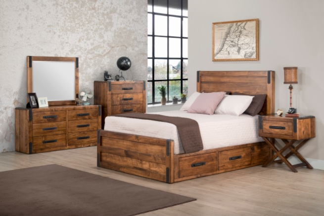 Wood Bedroom Sets Make A Romantic Atmosphere
